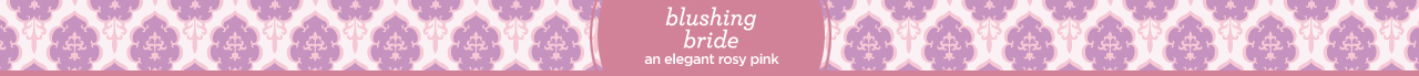 dream family: blushing bride