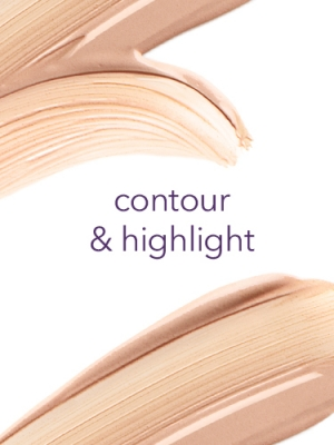 how to put on contour and highlighter