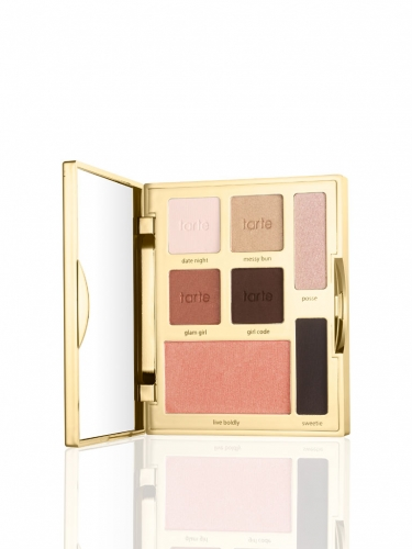 limited-edition happy girls shine brighter eye & cheek palette -