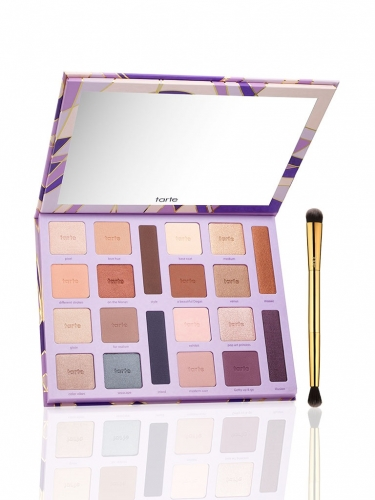 limited-edition color vibes Amazonian clay eyeshadow palette with brush -