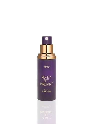 travel size ready, set, radiant skin mist -
