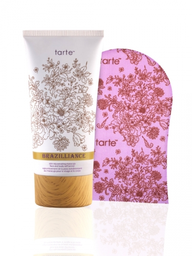 Brazilliance skin rejuvenating maracuja self tanner with mitt -