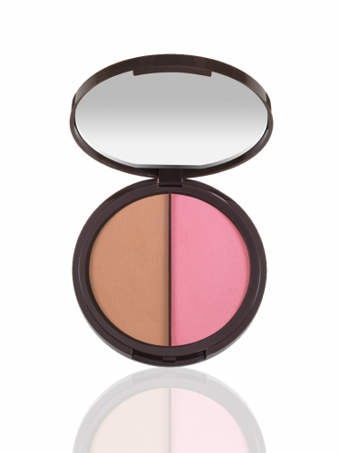 power couple Amazonian clay blush & bronzer duo -