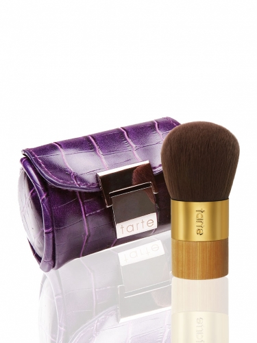 glam on the go kabuki makeup brush
