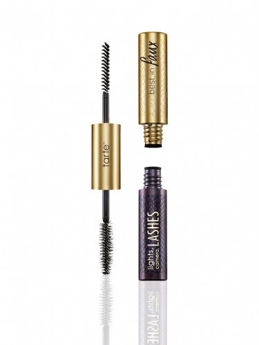 lights, camera, lashes double-ended lash fibers & 4-in-1 mascara -