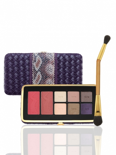 Amazon escape: Amazonian clay eye & cheek palette volume II and brush -