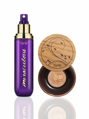 Amazonian clay full coverage airbrush foundation & setting spray -
