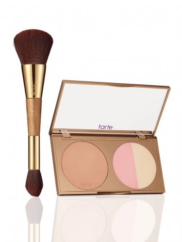 park ave princess contour palette & double-ended brush -