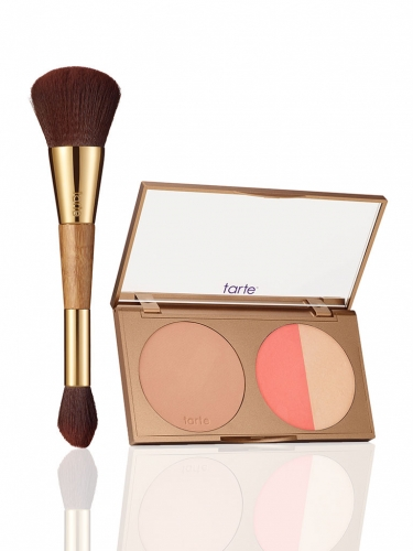 park ave princess contour palette vii & double-ended brush -