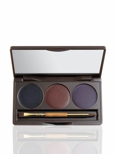colored clay precision cream liner palette & brush -