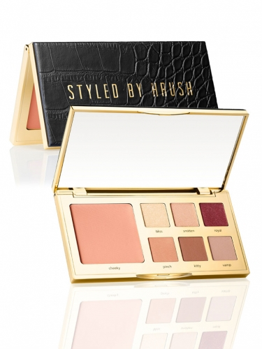 limited-edition Styled by Hrush eye & cheek palette -