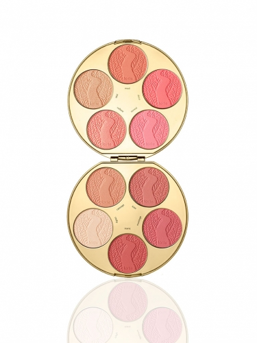 limited-edition color wheel Amazonian clay blush palette -