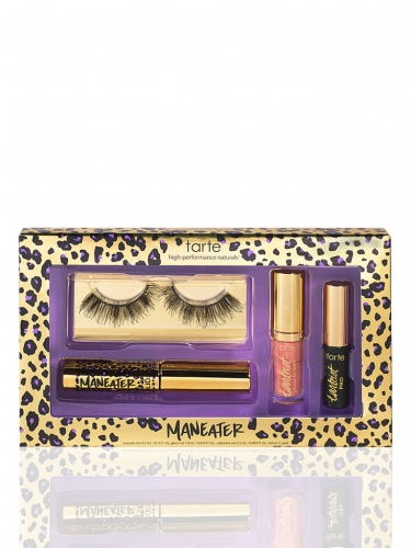 limited-edition maneater makeover lash & lip set -