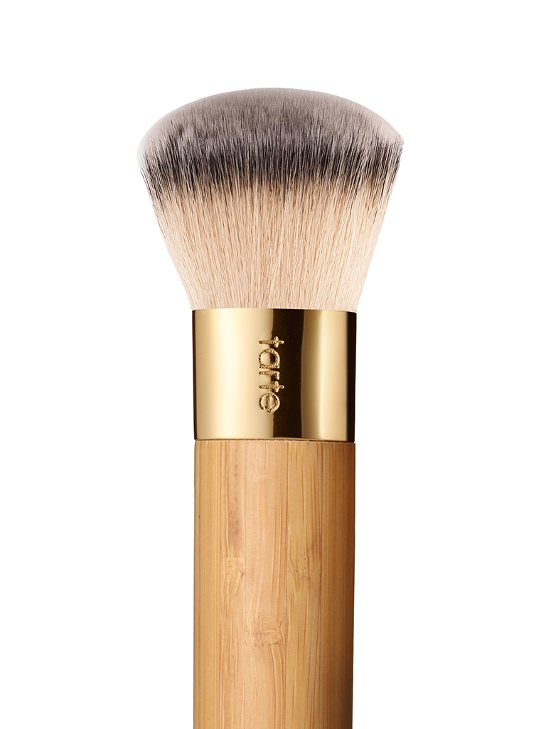 the buffer airbrush finish bamboo foundation brush