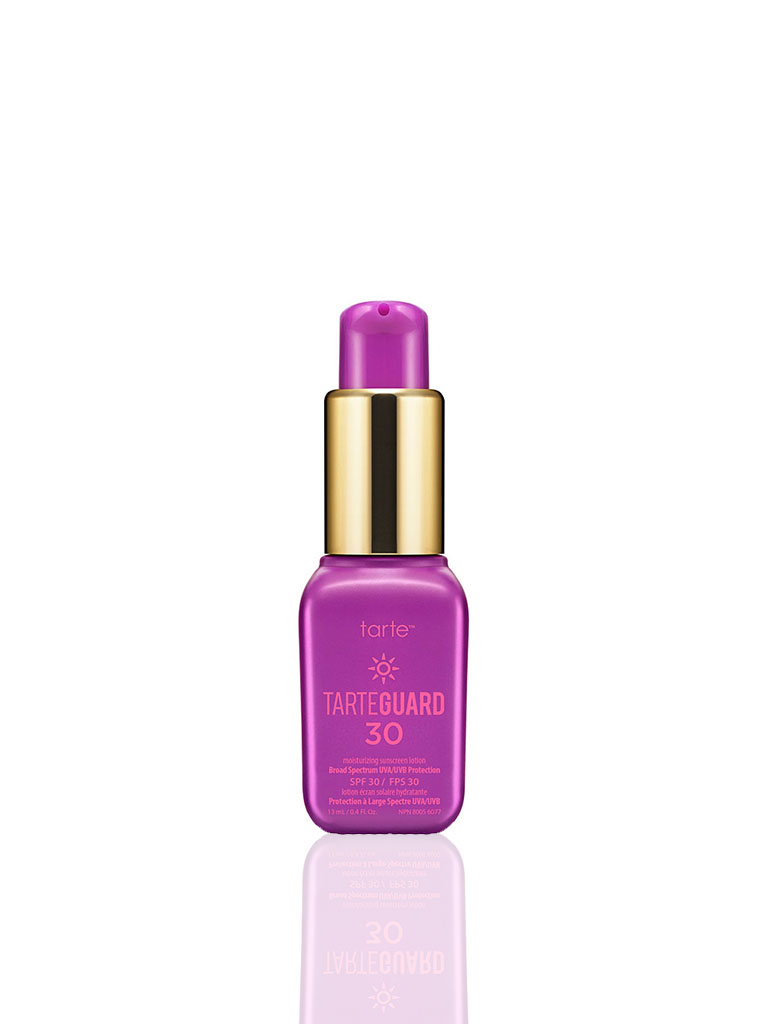 tarte to go tarteguard 30 moisturizing sunscreen lotion Broad Spectrum UVA/UVB protection SPF 30