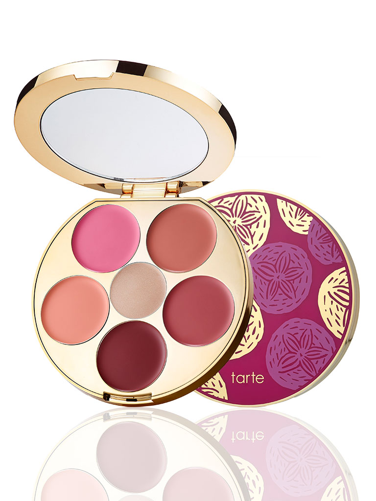 limited-edition kiss & blush cream cheek & lip palette