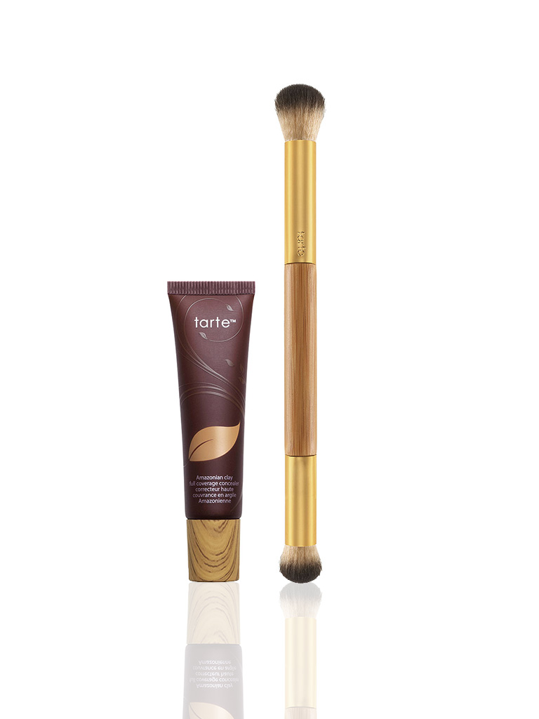 Amazonian clay full coverage concealer & brush