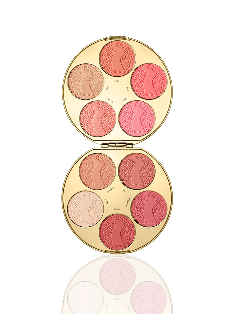 limited-edition color wheel Amazonian clay blush palette
