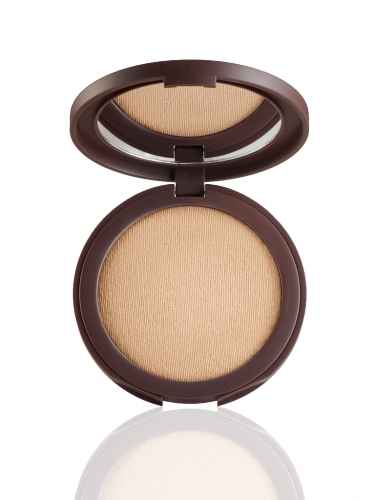 smooth operator Amazonian clay tinted pressed finishing powder