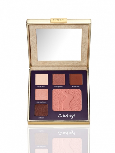 double duty beauty limited-edition eye & cheek palette - classic courage -