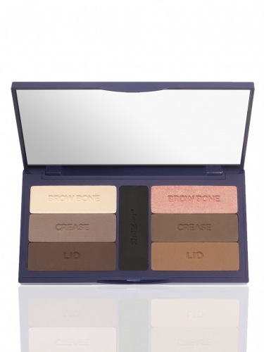 eye solutions colored clay eyeshadow palette -
