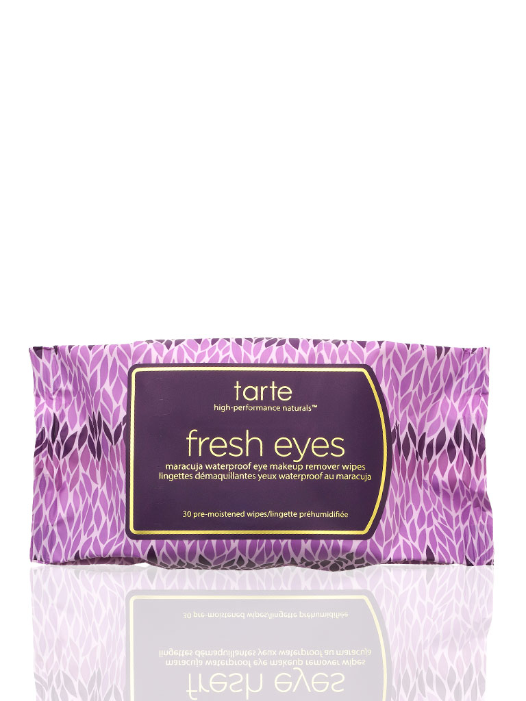 Tarte Makeup Brushes: Fresh Eyes Maracuja Waterproof Eye Makeup Remover Wipes